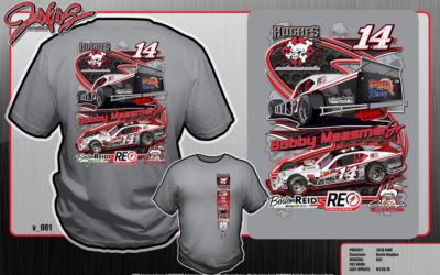 Get Your Hughes Motorsports Apparel Today